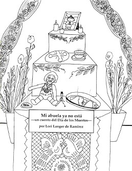 Mi Abuela Ya No Esta - coloring book