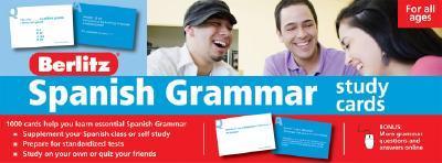 Berlitz Spanish Grammar Cards