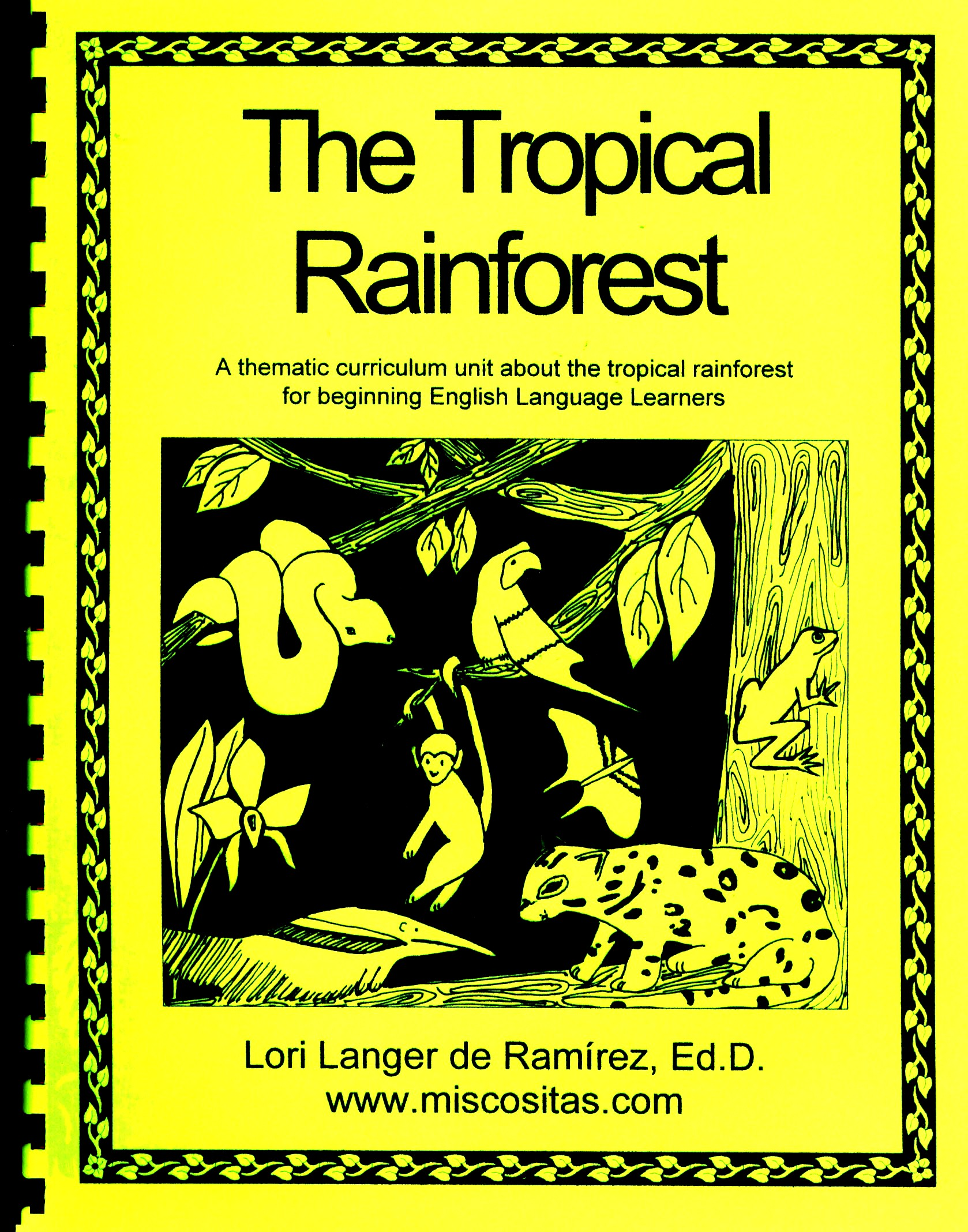 worksheet Tropical Rainforest Worksheet miscositas com thematic curriculum units for language teachers in english download these from our google drive